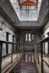 HDR of Eastern State Penitentiary Cells