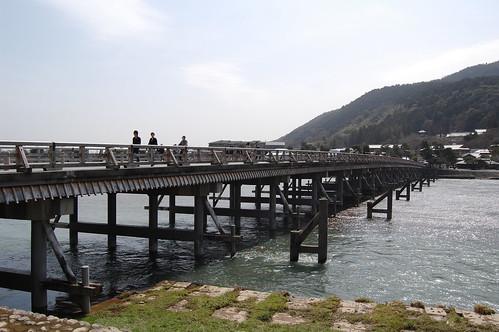 Togetsukyo bridge (渡月橋)