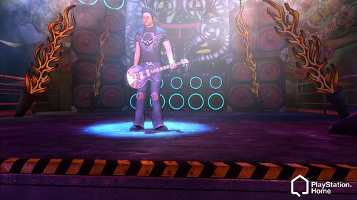 Guitar Hero PlayStation Home Space 7