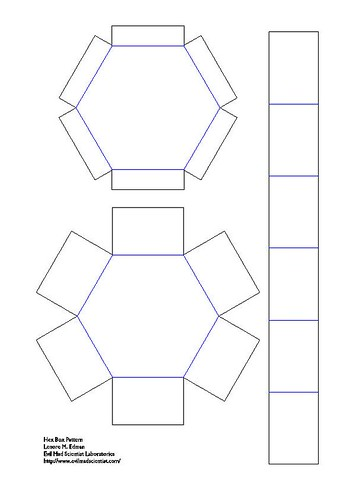 Pattern For Making A Dog House Favor Box