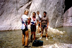 Canyon de la Vacca : canyoning en famille, la grande joie des ados