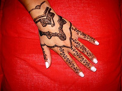 henna tattoo (Set)