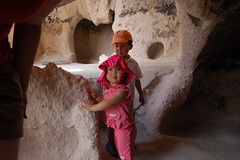Cave dwelling at Bandelier