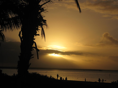 Sunset at Monkey Mia