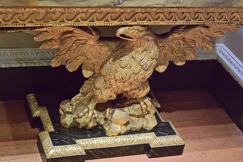 Console table, English, ca. 1740, at the Saint Louis Art Museum, in Saint Louis, Missouri, USA