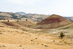 (Lisa Norwood) Tags: sky monument beautiful oregon ancient painted hills national paintedhills fossils johndayfossilbeds lisanorwood