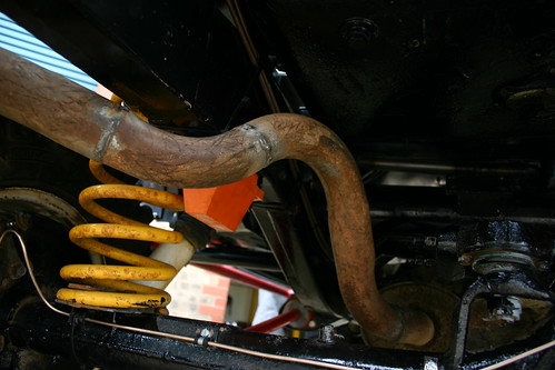 The rear exhaust