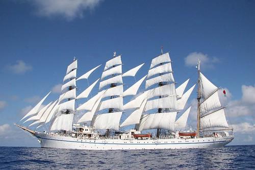 『帆船日本丸』が柏崎港にやってきます!!