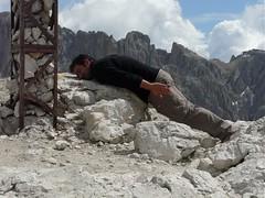The Lying Down Game sul Sasso Piatto (BZ)