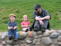 Gavin, Lilah and Daddy