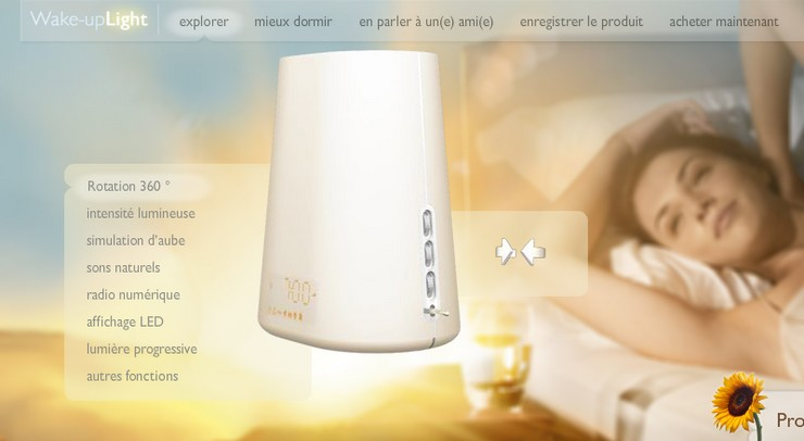 wake up light philips eveil lumiere