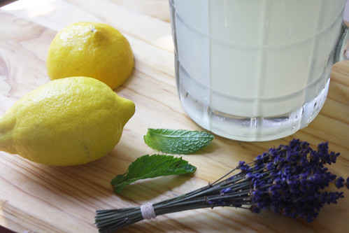 lavender mint lemonade 2