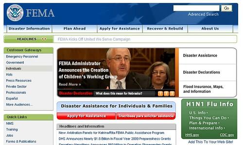 FEMA網站