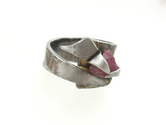 ruby on the rails (Vagabond Jewelry (Kest)) Tags: abstract modern dark big stainlesssteel contemporary steel wide jewelry ring jewellery rings rough ruby tough unisex gem stainless chunky gemstone vagabond schwartzman kest roughgem