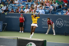 Serena Williams (John Barrie Photography) Tags: black john us open mason cara womens master tennis oh 2009 barrie huber vp liezel serenawilliams johnbarriephotography velocityphotography