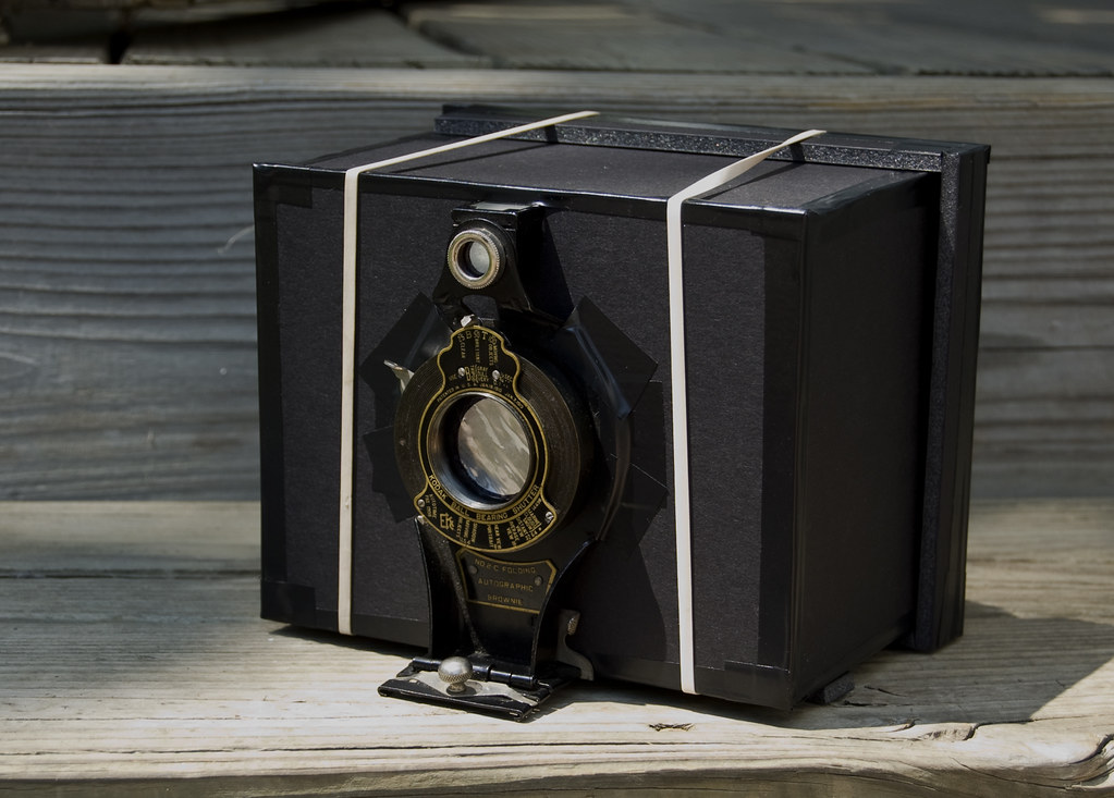Foamcore Pinhole camera 1.0