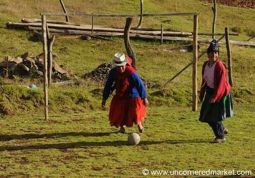 Soccer with Kiva Borrowers in Rural Southern Ecuador