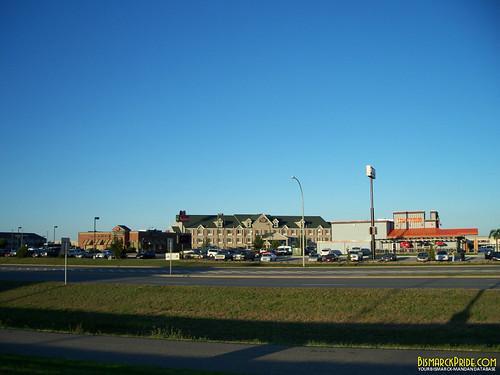 Country Suites, Applebees, and Hooters on State Street (U.S. Hwy 83) in Bismarck, North Dakota