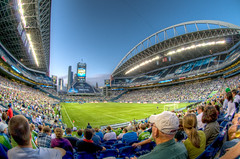 HDR1 - Qwest Field, Seattle Sounders (fisheye)