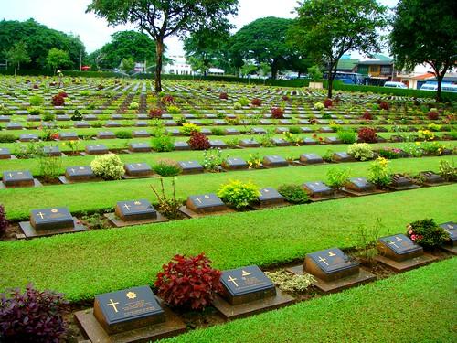 Kanchanaburi War Cemetery @ Song About Jen