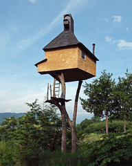 TAKASUGI-AN: Terunobu Fujimori, Chino, Nagano, Jun. 2004 (wakiiii) Tags: japan architecture nikkor 建築 f4 1224 s5 s5pro nikkor1224mmf4gifed