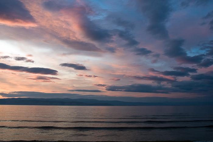 Sunset over Irkutsk