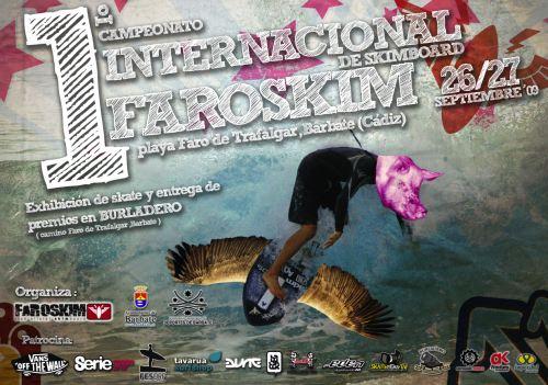 Cartel Campeonato FaroSkim