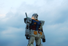 mobile suit GUNDAM ([puamelia]) Tags: 50mm 11 odaiba gundam d60 mobilesuitgundam realscale gundampicnic