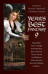 Year's Best Fantasy 9 cover