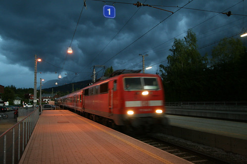 Storm Clouds, Seefeld train station