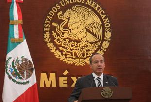 Mexico President Felipe Calderón