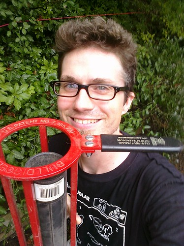 Me with my awesome new Bull Digger!