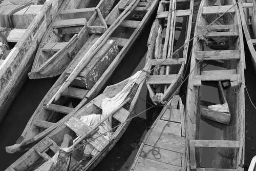 Boats, Elmina - Ghana.