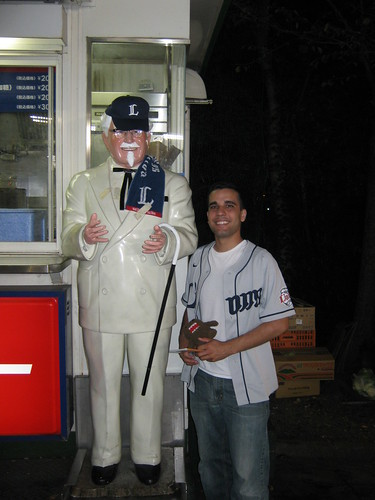 Hanging with the Colonel.