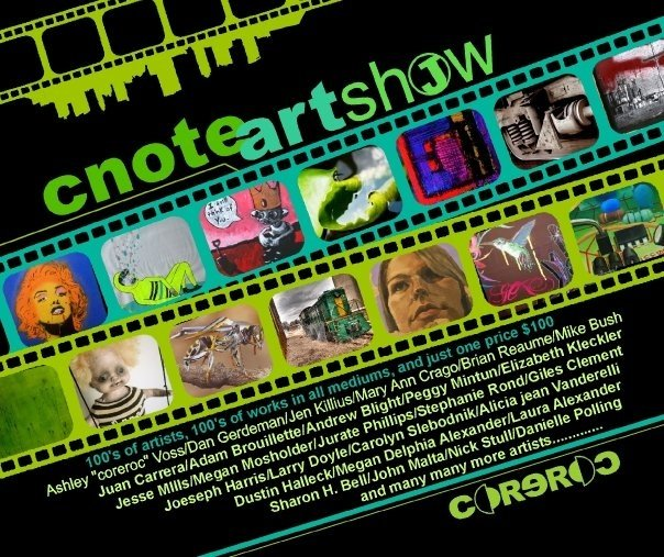 CNote Art Show Flyer