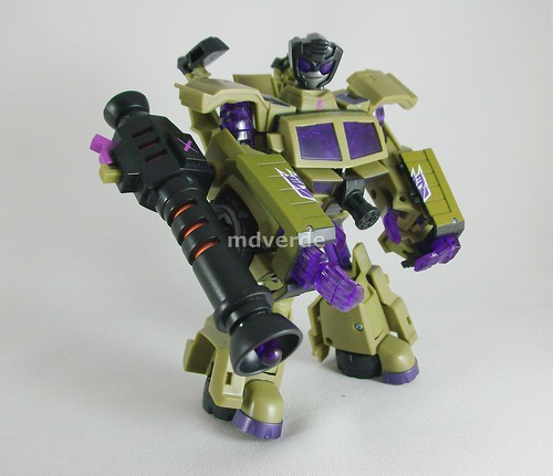 Transformers Swindle Animated Deluxe - modo robot