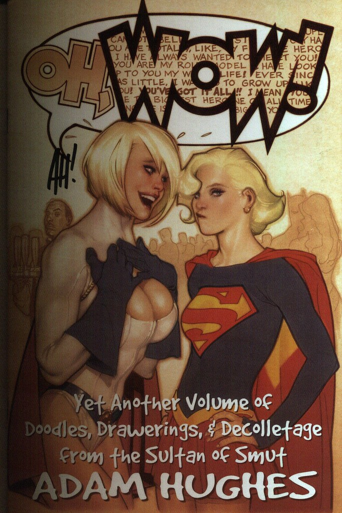 Oh, WOW (Adam Hughes, sketchbook 2009)