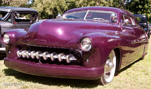 "50 mercury ""lead sled"" Hot rod"