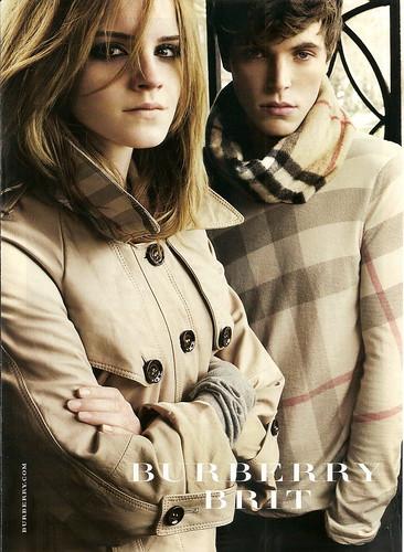 emma watson burberry. Emma Watson - Burberry