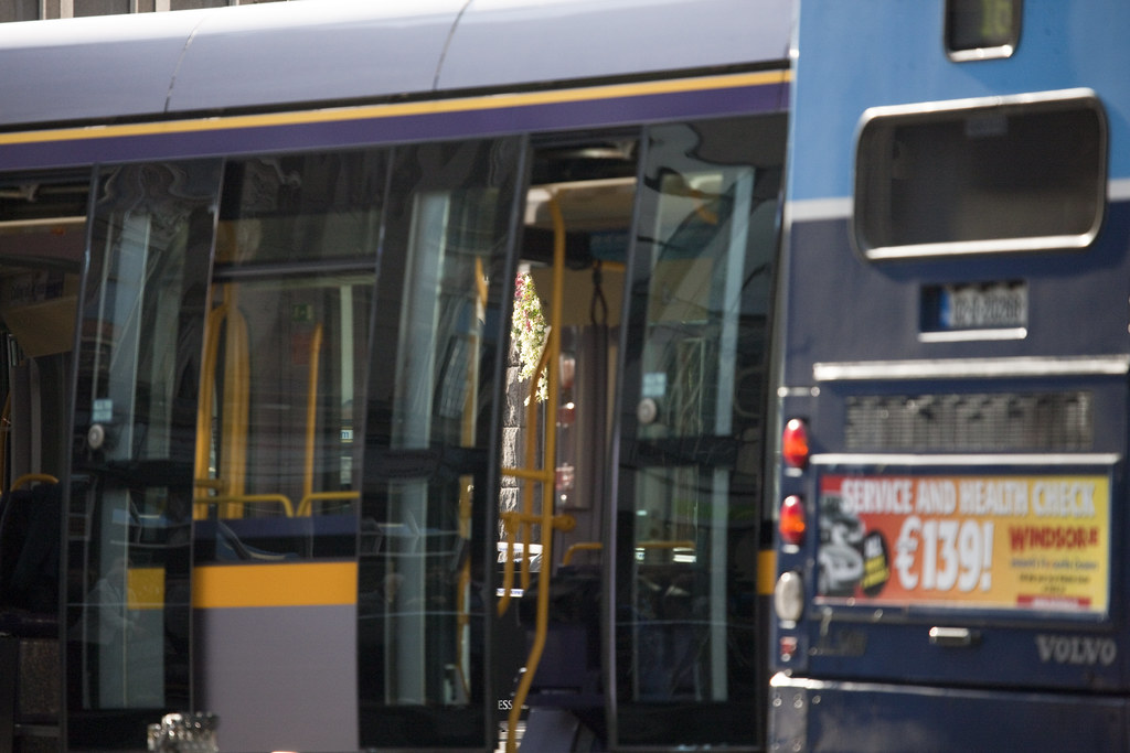 Luas And No. 16 Bus Involved In Serious Accident