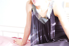 V (Irina Nalivaiko) Tags: light dress blackdress
