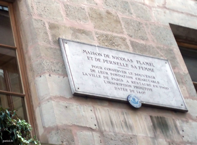 Plaque comémorative de la restauration de 1900