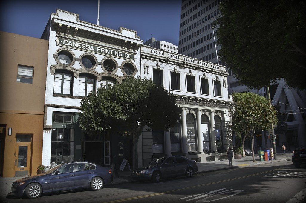 Canessa and Alioto Buildings, An Historic SF Corner