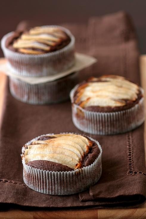 Tartelette: Double Chocolate And Pear Cakes