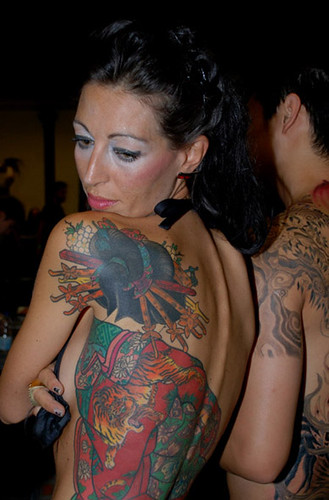 salon du tattoo sept Paris