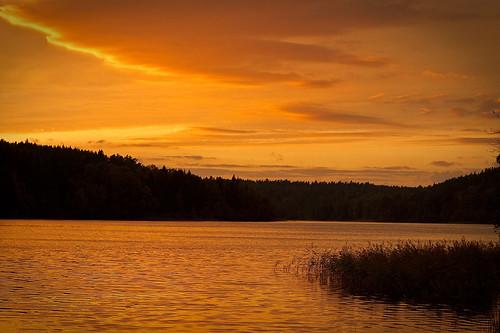 Saulėlydis Balsio ežere