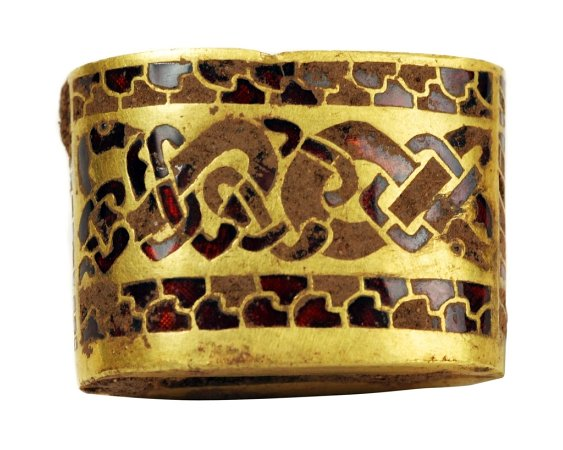 Hilt fitting from the Staffordshire Hoard