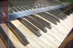 Music (week 40) (Jainbow) Tags: music keys keyboard notes guitar piano strap acoustic strings handel week40 jainbow 52½weeksof2009 5212weeksof2009 arrivalofthequeenofsheba