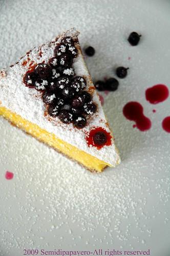 Cheesecake ricotta e mirtilli