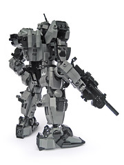 FHF S07 'Ujio' - Ground Type (Fredoichi) Tags: japanese robot lego space mecha mech fredoichi gundamtype